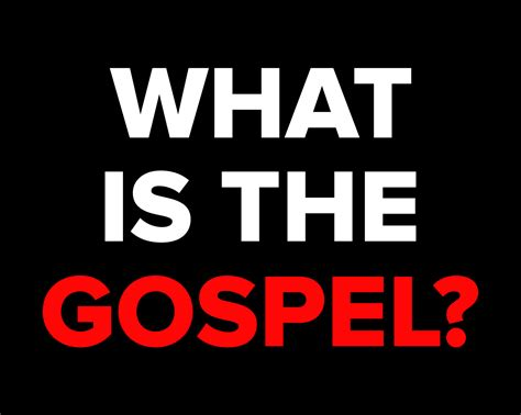 The Relentless Fight What Is The Gospel?