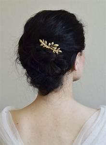 Peigne Cheveux Mariage : bijoux mariage peigne cheveux perles de culture feuilles orchid e de soie la coiffure du jour ~ Preciouscoupons.com Idées de Décoration