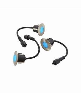 Mini Spot Led Encastrable : lot 3 mini spot encastrable rond 6cm inox mini deck light ~ Dode.kayakingforconservation.com Idées de Décoration
