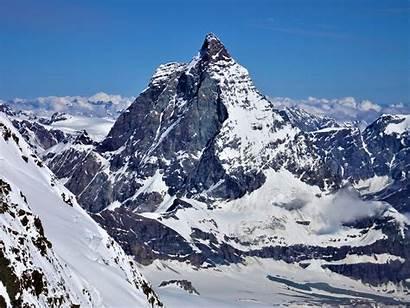 Mountain Ranges Highest Italien Seilbahn Matterhorn Schweiz