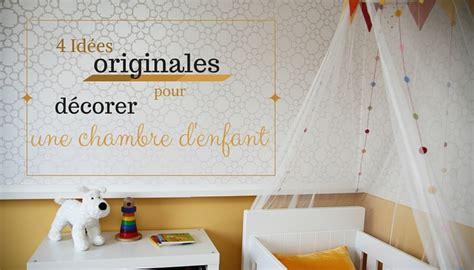 deco chambre enfants décoration chambre enfants 4 idées hors du commun
