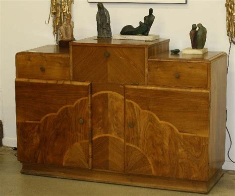 Sideboard Liquor Cabinet by 230 Labeled Grant Deco Sideboard Liquor Cabinet Lot 230