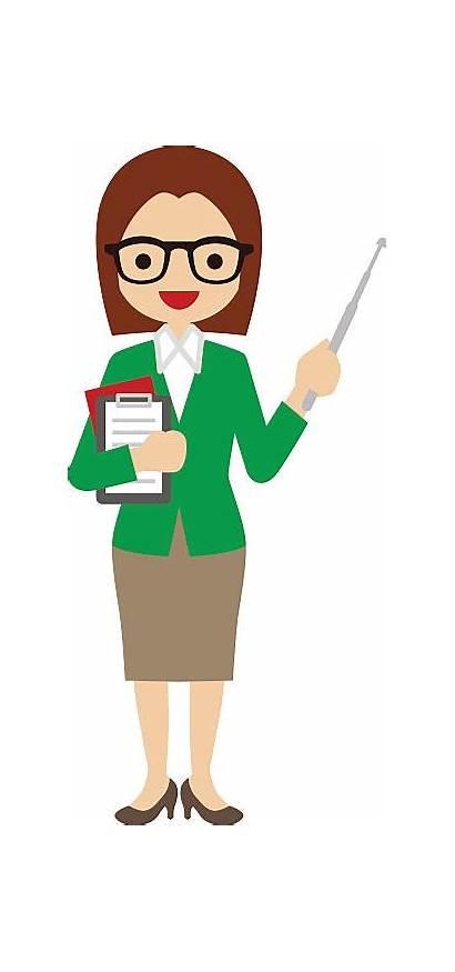Teacher Clipart Female Vector Clipartlook Illustrations Clip