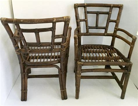 1930s Pair Of Rattan Armchairs For Sale At 1stdibs