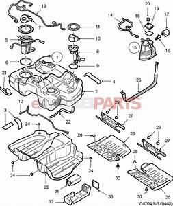 12780869  Saab Fuel Pump  V6 Xwd