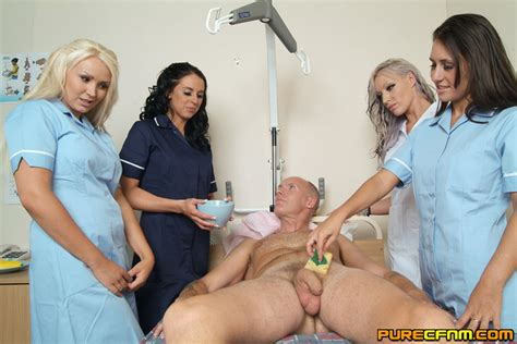 Naughty Gorgeous Nurses Nursing A Sad Dick Xxx Dessert Picture