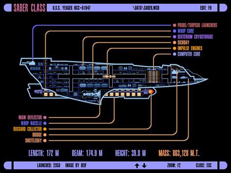 starship deck plan creator uss yeager saber class starship minecraft project