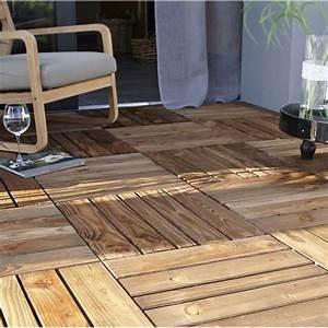 Dalle De Terrasse En Bois : dalle bois douglas nat rial x cm x mm ~ Dailycaller-alerts.com Idées de Décoration