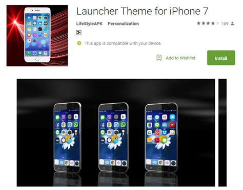 iphone launcher theme top 10 free ios themes for android use ios 10 on android