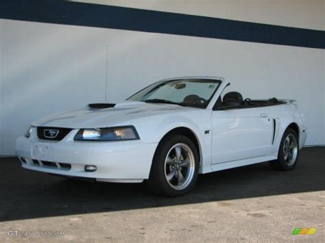 white ford mustang convertible 2003 oxford white ford mustang gt convertible 35719552