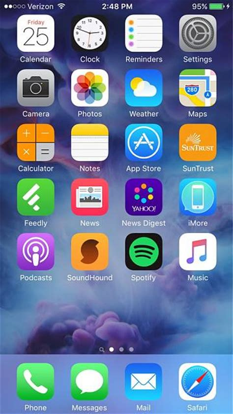 iphone 6 home screen your iphone 6s homescreen iphone ipod