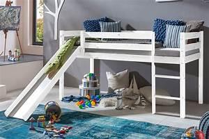 Hochbett Rutsche Weiß : hochbett mit rutsche kimball 90x200 kiefer wei lasiert massivholz wohnbereiche schlafzimmer ~ Whattoseeinmadrid.com Haus und Dekorationen