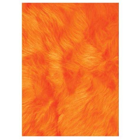 home depot orange la rug flokati orange 3 ft 3 in x 4 ft 10 in area rug flk 006 3958 the home depot