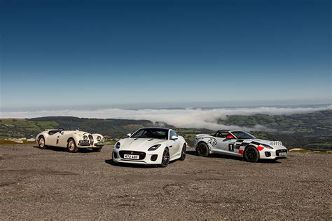 Jaguar F-type Rally Cars Celebrate 70 Years Of Sports Car