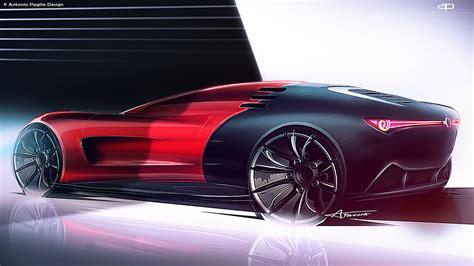 Alfa Romeo Concept by Alfa Romeo C18 Concept On Behance