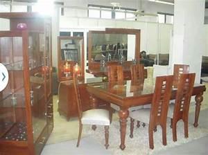 salle a manger kelibia meubles et decoration tunisie With meuble de salle a manger avec objet deco en verre