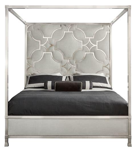 upholstered metal canopy bed bernhardt