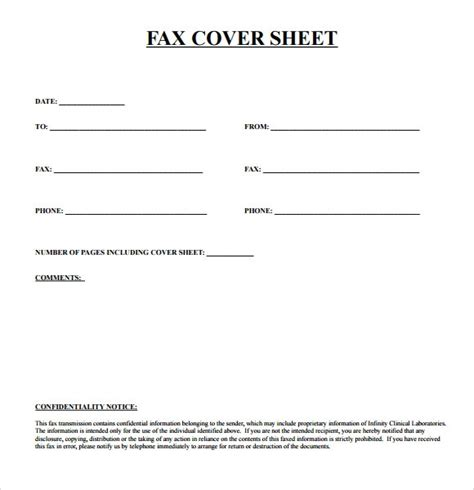 sample urgent fax cover sheet templates