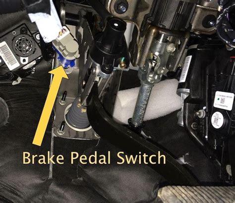 p brake switch ab correlation dtc