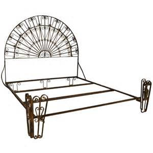 antique wrought iron palladium king size bed at 1stdibs
