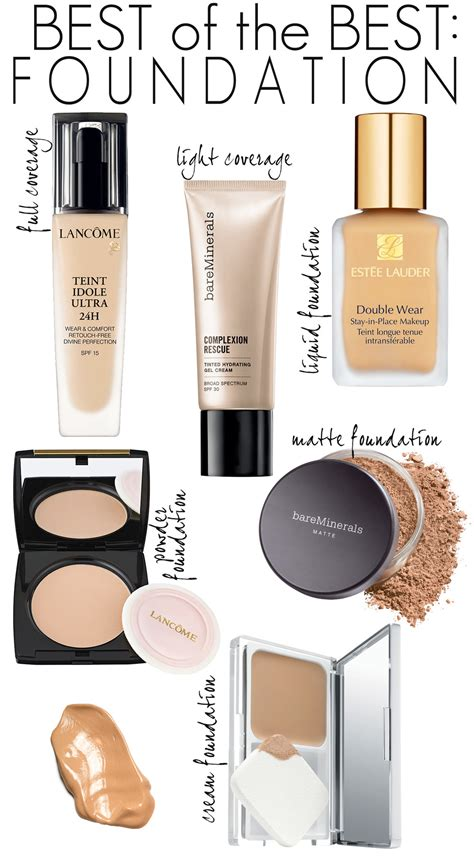 best drugstore light coverage foundation best of the best department store foundations