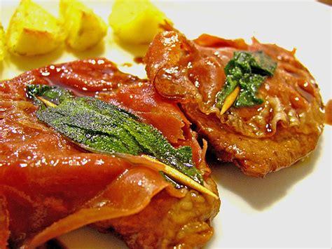 rezepte mit salbei kalbsschnitzel mit schinken und salbei judith
