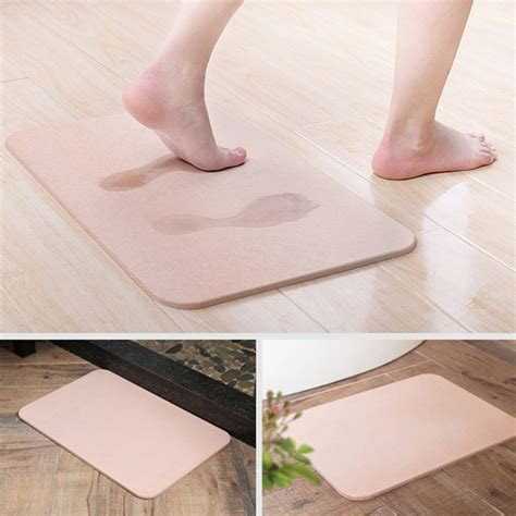 Best Diatomite Super Absorbent Bath Mat Magical Rug