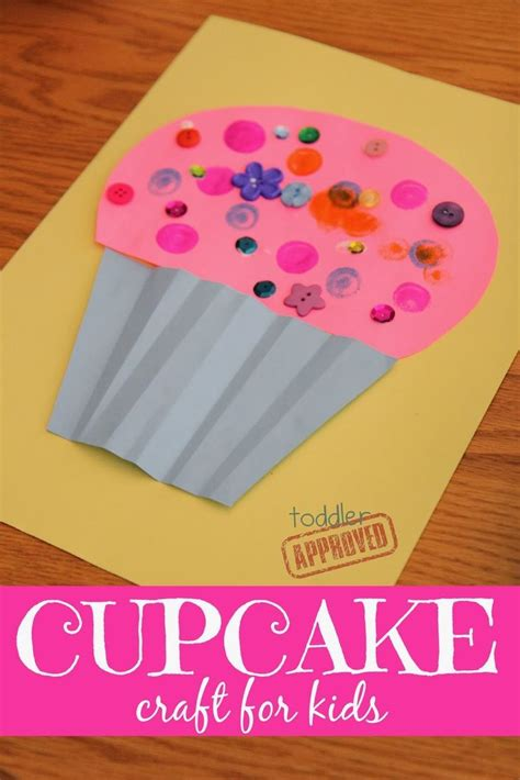 best 25 cupcake crafts ideas on cupcake liner 237 | 9b9c5a0e36c4b4847833de8019b41144 cupcake art for kids cupcake crafts preschool