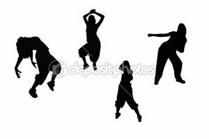 Hip hop dance silhouettes | fit and feelin it! | Pinterest