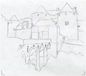 medieval castle drawings
