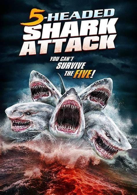 headed shark attack    bite   syfy  july horror society
