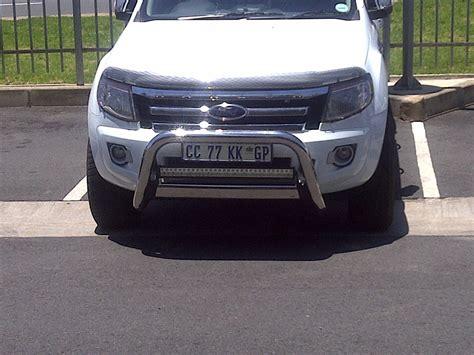 ford ranger with light bar light bar mounting on ranger t6