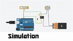 Simulation Of Electrical Circuits And Code In Arduino With