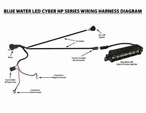 Bluewaterled Cyber Systems Led Wiring Harness    Switch