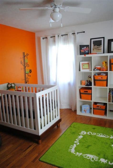 ideas    orange  kids rooms kidsomania