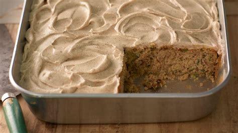 zucchini cake  cinnamon cream cheese frosting recipe