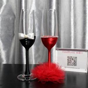 Decorate champagne glasses with ribbon nationtrendzcom for Decorate champagne glasses