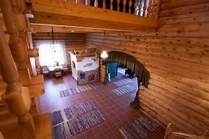 Belle Maison En Bois Lituanienne
