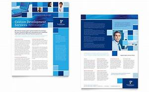 Technology Consulting  U0026 It Datasheet Template Design