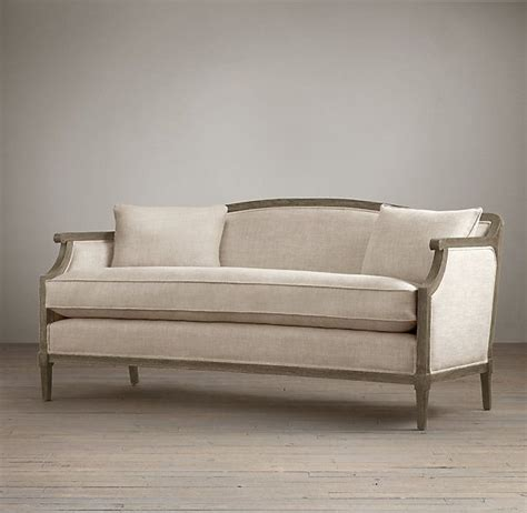 Restoration Hardware Settee by Restoration Hardware Laurent Salon Bench Copy Cat Sofa