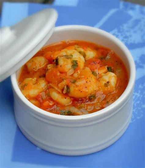 recette de cuisine avec des l馮umes fricassée de crevettes antillaise une plume dans la cuisine