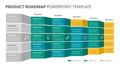 product roadmap powerpoint template powerpoint diagrams