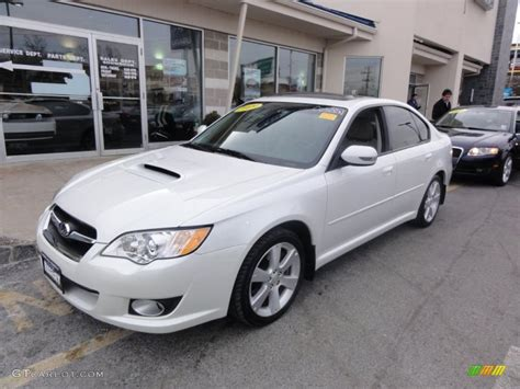 Subaru Legacy 2 5 Gt Limited by Satin White Pearl 2009 Subaru Legacy 2 5 Gt Limited