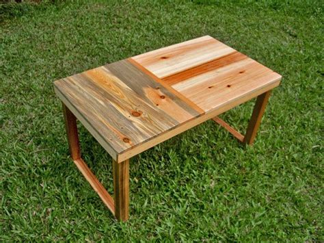 Reclaimed Wood Palettes  Small Coffee Table  Pallet Wood