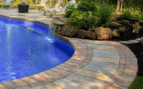 inground pool pictures ideas rochester ny woodstream