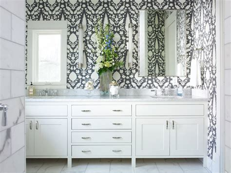 schumacher chenonceau charcoal wallpaper transitional