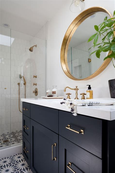 Black Cabinets Bathroom by Wont Let Me Pin From Houzz But Saved To Idea Book There