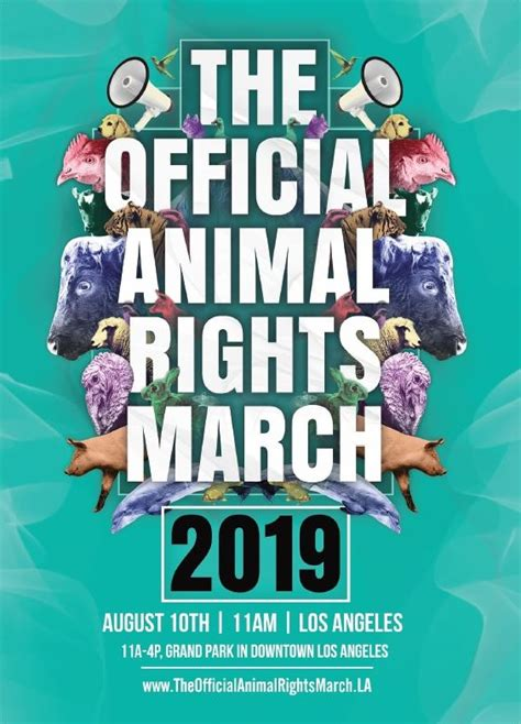 official animal rights march los angeles ca vegfund