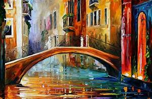 Venice Art Designs The Modern Impressionistic Art Of Colors By Leonid Afremov