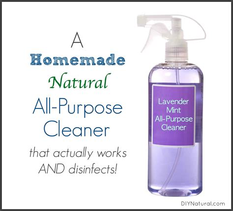 A Simple Homemade All Purpose Cleaner that Really Works